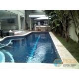 piscina de alvenaria armada com fibra