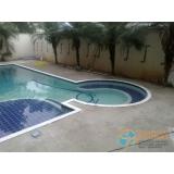 piscina de alvenaria armada com prainha