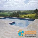 piscinas de alvenaria com azulejo Jardim Everest