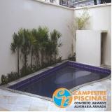 piscinas de alvenaria com hidro Capela do Alto