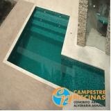 piscinas de alvenaria com prainha Presidente Prudente