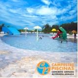 piscinas de alvenaria com vinil Barra Bonita