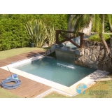 piscinas de concreto com infantil Tremembé