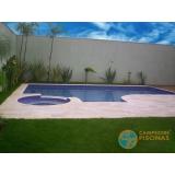 piscinas de concreto com revestimento José Bonifácio