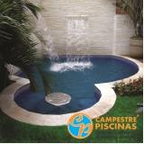 piscinas de concreto na laje Dois Córregos