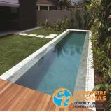 piscinas de concreto para academia Jardim Guedala