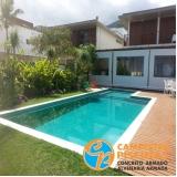 piscinas de concreto para chácara Ibirapuera