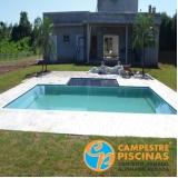 piscinas de concreto para clubes Itirapina