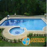 piscina de concreto para academia