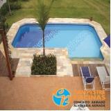 piscinas de fibra para chácara Piracaia