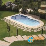 piscinas de fibra para laje Conchas