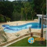 piscinas de fibra para sitio Nazaré Paulista