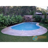 piscinas de vinil aquecida Água Branca