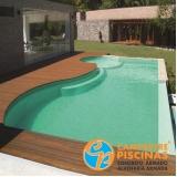 piscinas de vinil com borda infinita Pompéia