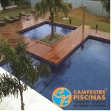 piscinas de vinil para condomínio Jardins