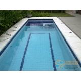piscina com concreto armado
