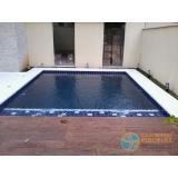 piscina com concreto projetado