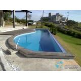 piscinas em vinil com borda sem fim Parque Anhembi