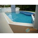 piscinas em vinil com visores Guarujá
