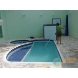 piscina de vinil aquecida