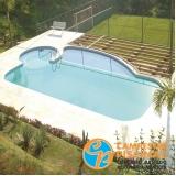 piso para piscina amadeirado São José do Rio Preto