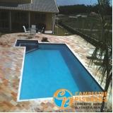 piso para piscina antitérmico melhor preço Vila Mazzei
