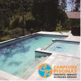 piso para piscina azul melhor preço Parque Colonial