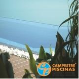 piso para piscina barato preço Praia Grande