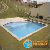 piso para piscina de concreto melhor preço Santo Amaro