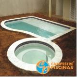 pisos para piscina de concreto Engenheiro Goulart