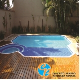 pisos para piscina estrutural Mooca