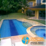piso para piscina antitérmico