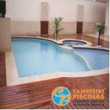 procuro por piso para piscina atérmico Marapoama