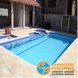 procuro tratamento automático piscina Embu Guaçú