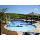 projeto de piscina de concreto com infantil Aricanduva