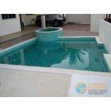 projeto de piscina de concreto com sauna Brasilândia