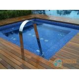 projeto de piscina em concreto armado Arcadas