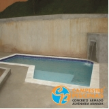 quanto custa cascata para piscina de alvenaria Porangaba