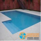 quanto custa piscina de alvenaria com azulejo Santa Gertrudes