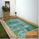 quanto custa piscina de concreto na laje Perdizes