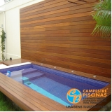 quanto custa piscina de fibra para laje Cunha