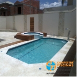 quanto custa piscina de fibra para sitio Ribeirão Branco