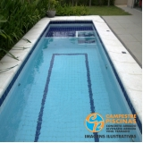 quanto custa piscina de fibra para terraço Campo Grande