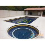 quanto custa piscina em vinil com borda Jardim Helian
