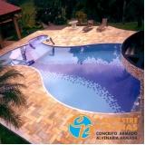 reforma de piscina azulejo preço Parque São Domingos