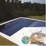 reforma de piscina de fibra aquecida Vila Maria