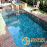 reforma de piscina de fibra com prainha Itaquera