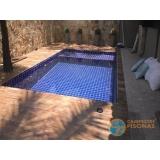reforma de piscina de pastilha orçar Ubatuba