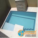 reforma de piscina de vinil com borda infinita Cajati