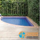 reforma de piscina de vinil para academia Itirapina